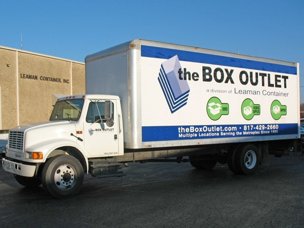 The Box Outlet Truck - Leaman Container