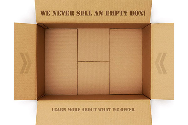 We Never Sell an Empty Box Guarantee - Leaman Container