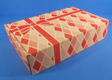 Red Holiday Packaging - Leaman Container